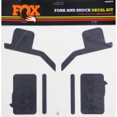 Fox Decal 16 Heritage, Fork & Shock Kit, Stealth Black