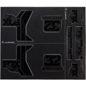 Fox Decal Forx 17 32 AM Step-Cast Kit Stealth Black