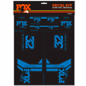 Fox Decal Forx 17 32 AM Step-Cast Kit Blue