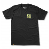 FOX T-Shirt Throwback Tee 100% Ringspun Cotton, Black