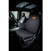 FOX Car Seat Cover Orange Logo