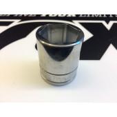 Fox Tool Socket 27mm 6PT, 1/2 Drive, Flush